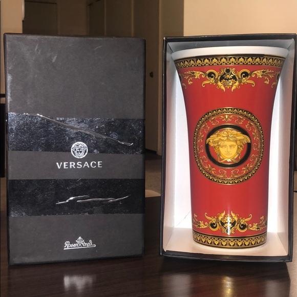 Versace Other - Versace vase 10 1/4 inch
